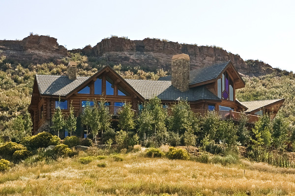 Indian Creek Ranch Estate Northern Colorado Luxury Log