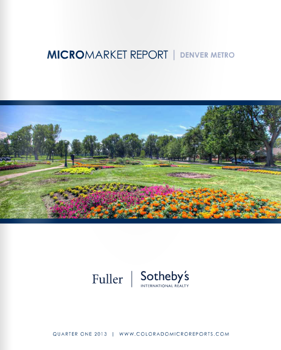 Denver Shooting Market: Why FSIR's 1Q13 Micro-Market Reports Are A Must-Read
