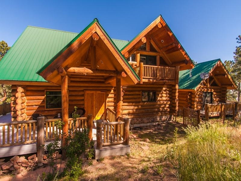 Million Dollar Log Home Plans
