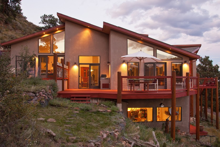 artist carmon slater s energy efficient mountain home for