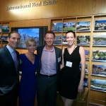 Phillip White, President & CEO of Sotheby's International Realty; Melanie Frank; Tre Behr; Kristen Muller