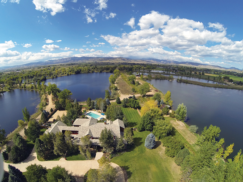 11541 North 75th Street, in Boulder County. Offered at $6.895M by LIV Sotheby's International Realty.