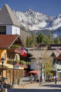 Pictured: Downtown Vail Village, home to LIV Sotheby's International Realty.
