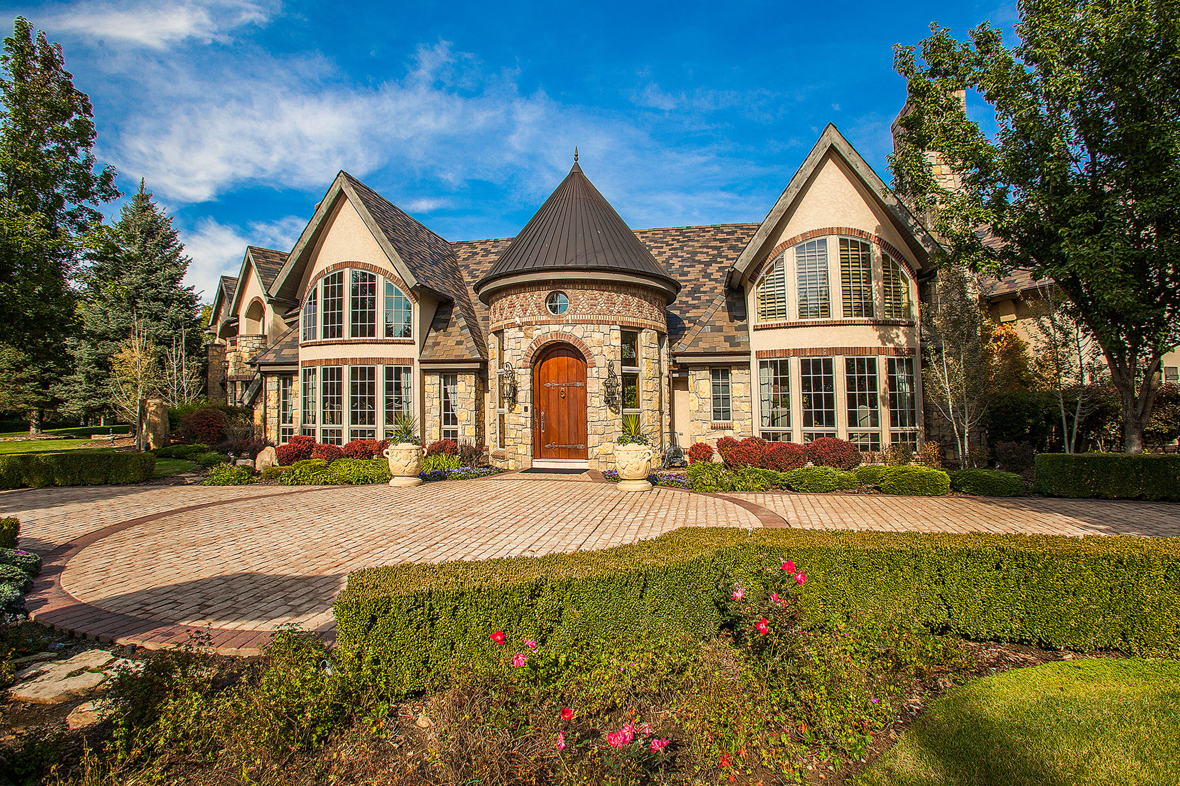 Pictured: 5 Mockingbird Lane, Cherry Hills Village, CO. Listed by LIV Sotheby's International Realty for $4,995,000