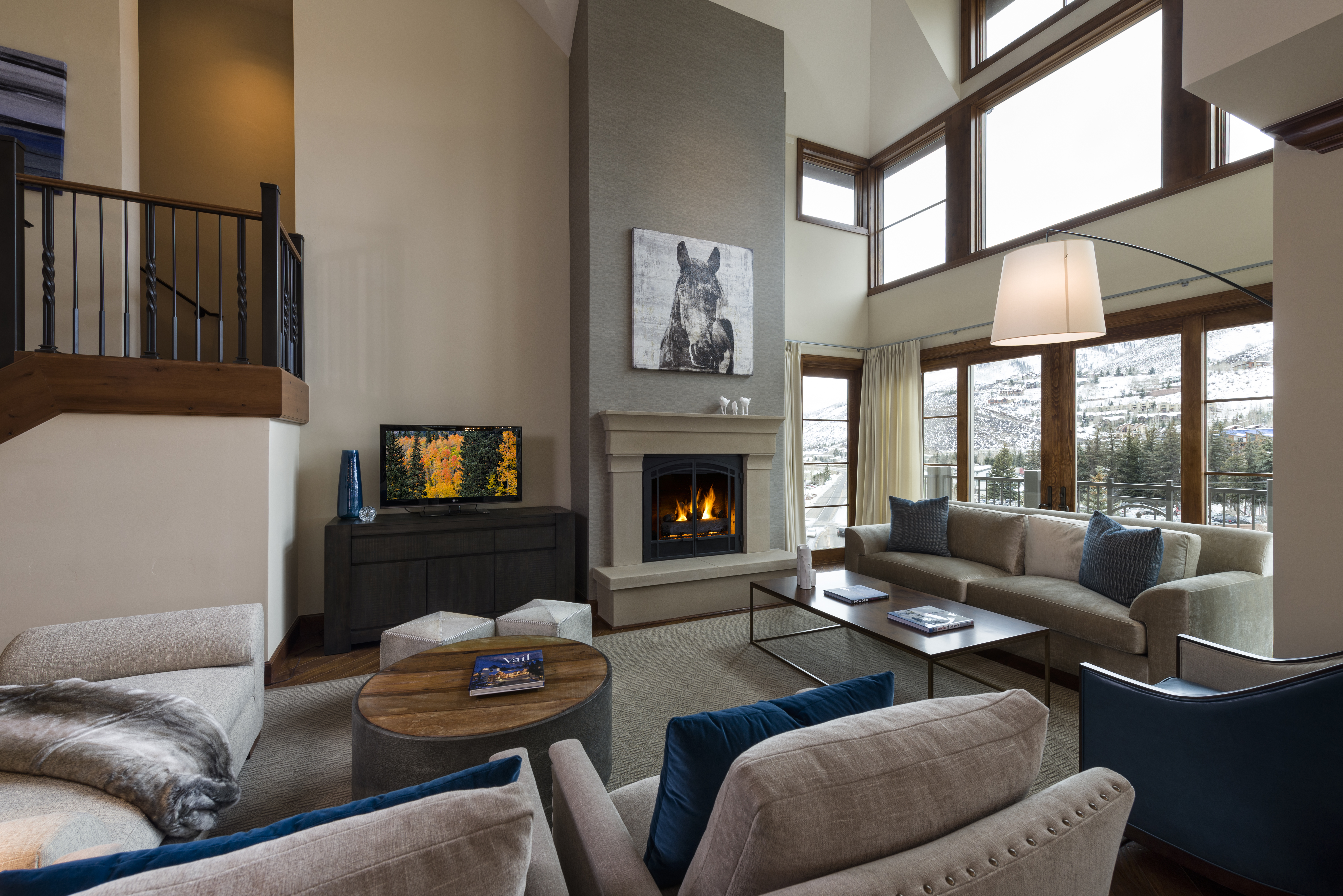 Pictured: Exterior And Residences 101 And 402 Of The Ritz Carlton Residences,  Vail