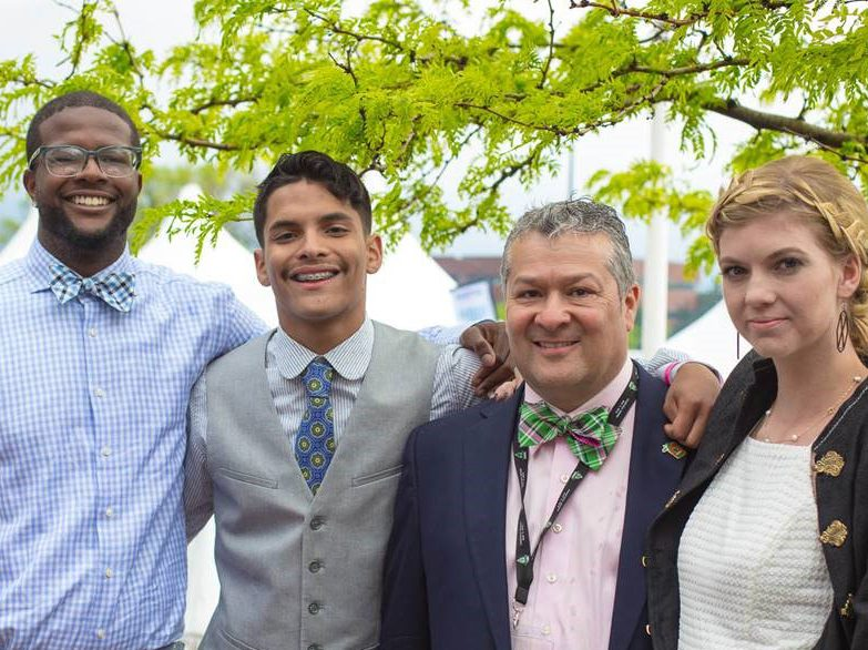 """LIV Sotheby's International Realty and broker, Ron Martinez, support the Sean """"Ranch"""" Lough Memorial Scholarship Foundation at the 2016 Denver Derby Party."""