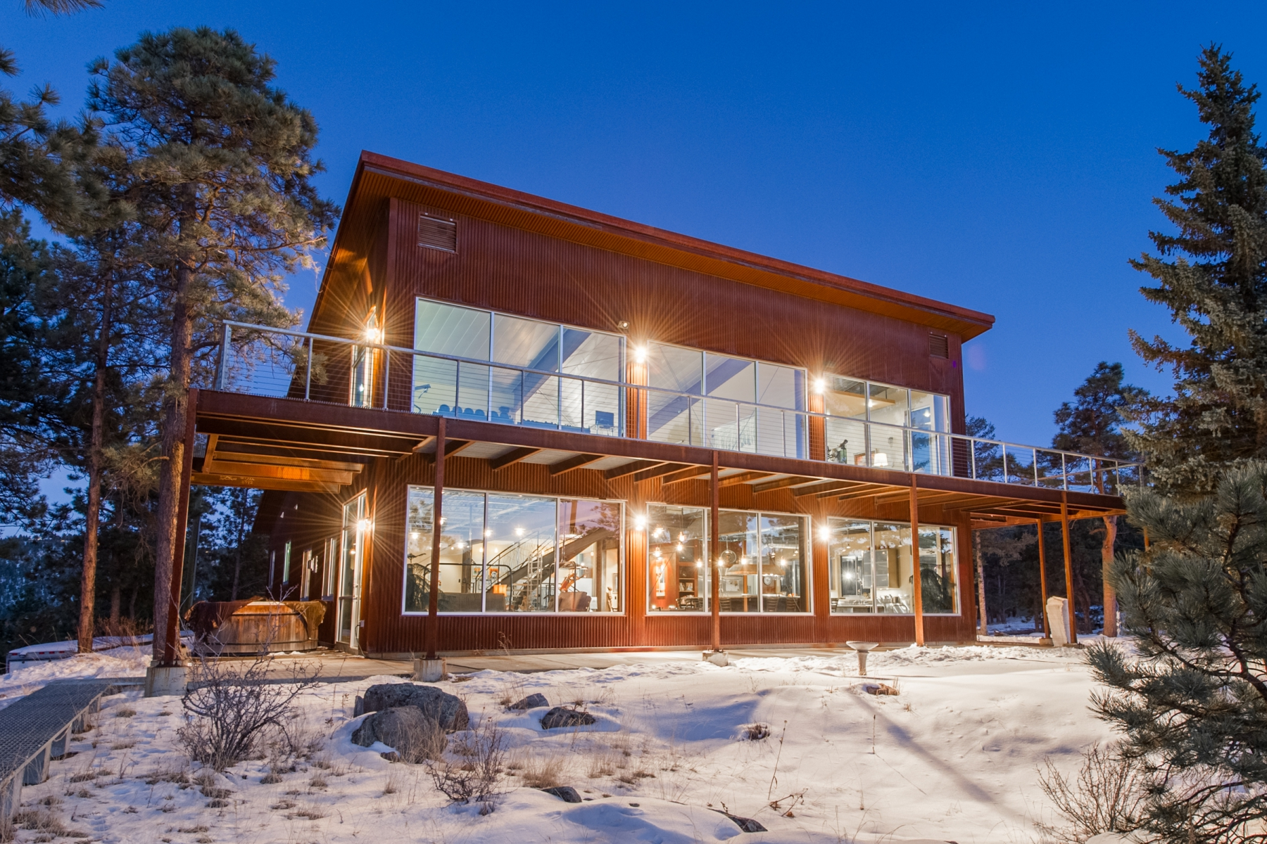 Pictured: 6199 South Skyline Drive, Evergreen. Listed by LIV Sotheby's International Realty for $1,788,000.