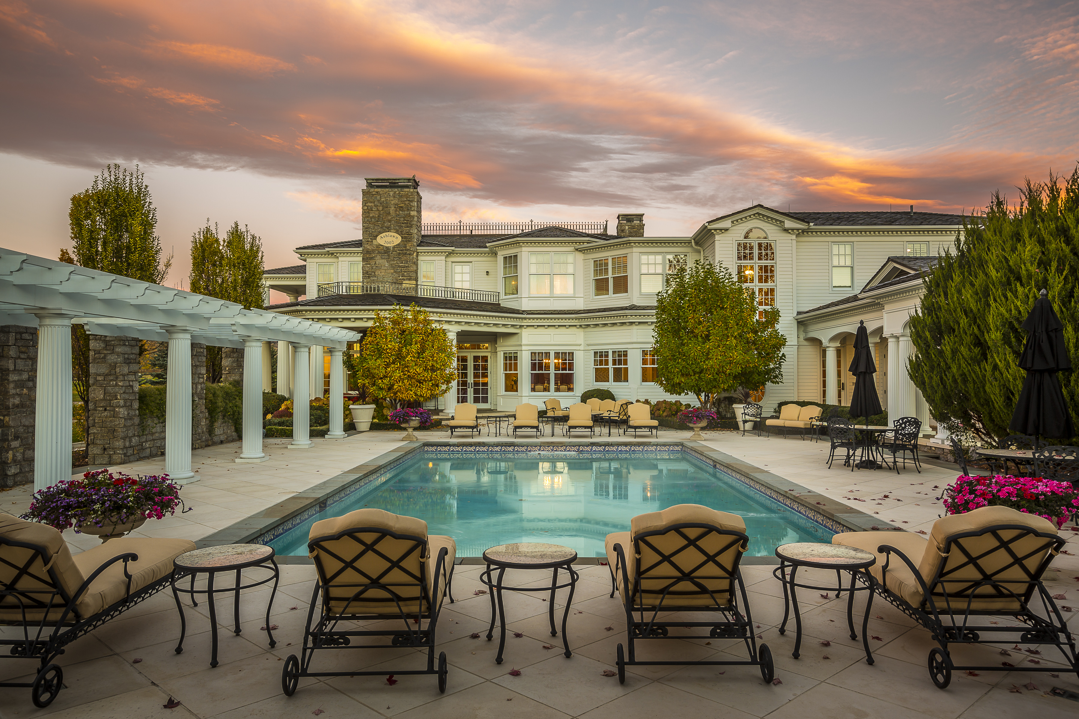 The Ashlawn residence at 7484 N 49th Street, Boulder County. Listed by LIV Sotheby's International Realty for $22,200,000.
