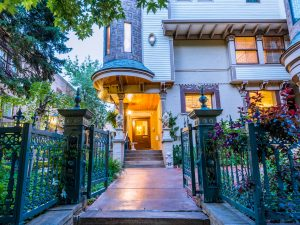 Residence No.101 located at 1022 Pearl Street in Capitol Hill, Denver. Listed by LIV Sotheby's International Realty for $1,100,000.