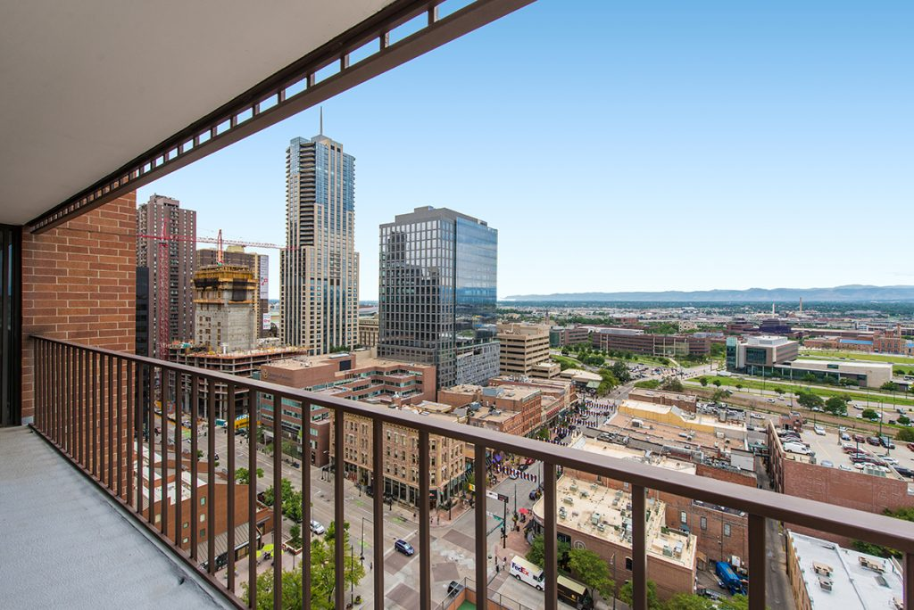 Pictured: 1551 Larimer St, Unit 1901, Denver. Listed for sale by LIV Sotheby's International Realty for $949,000.