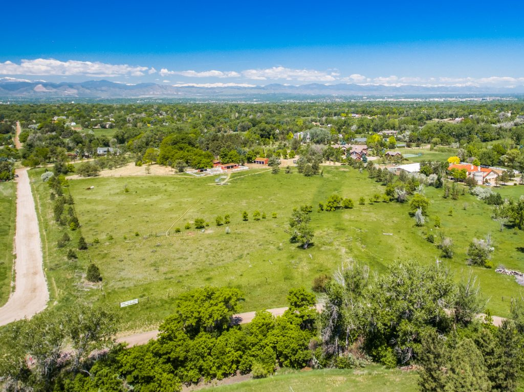 LIV Sotheby's International Realty lists 'Highline Farm' at 5550 S Steele Street, in Greenwood Village, Colorado for $7,400,000.