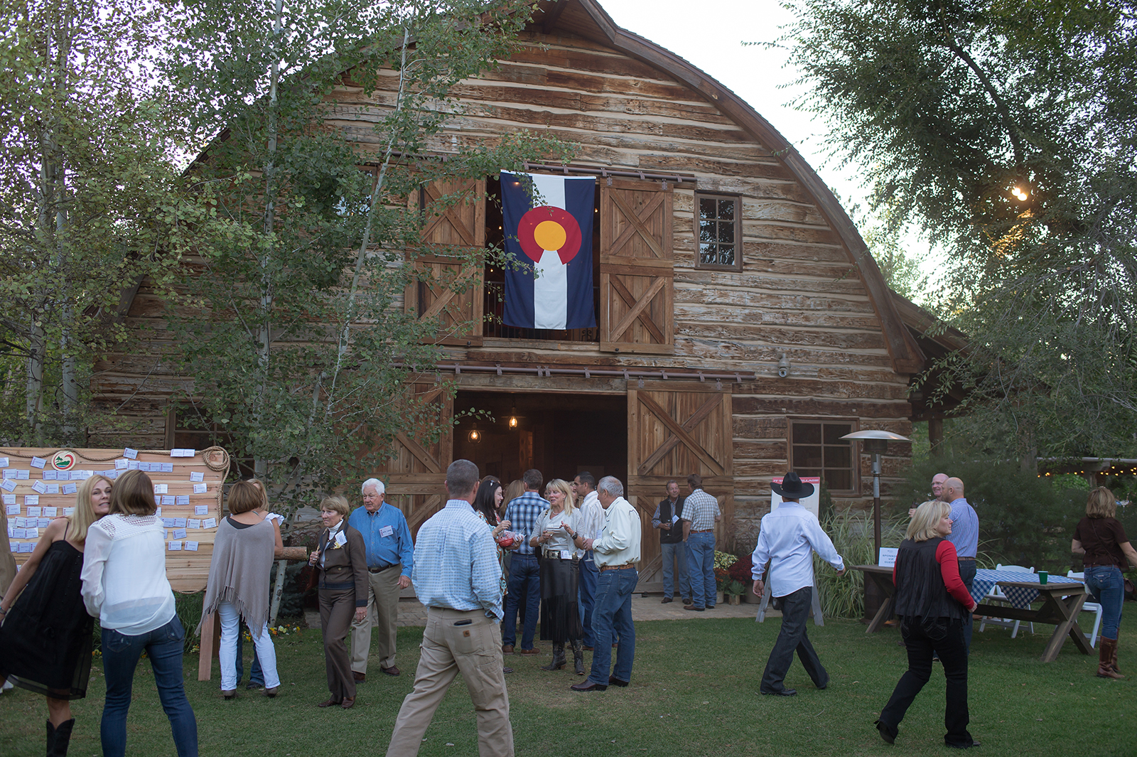 Rady Barn located at 1305 E. Quincy Ave., home to Barn Party.