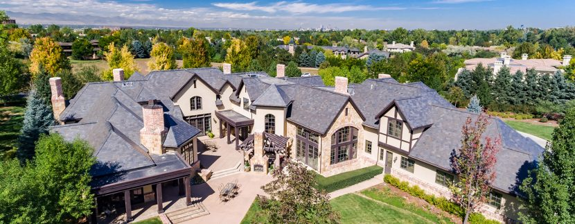 Pictured: 4 Haystack Row, Cherry Hills Village, CO. Listed by LIV Sotheby's International Realty for $4,495,000.
