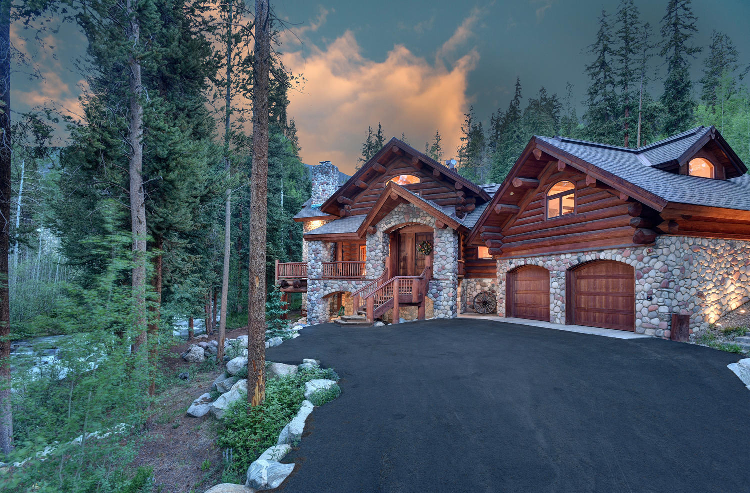 Pictured: 75 Stoney Trail, Keystone, CO. Listed for sale by LIV Sotheby's International Realty for $3,100,000.
