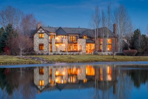 1 Sandy Lake Road, Cherry Hills Village, CO. Listed by LIV Sotheby's International Realty for $3.87M.
