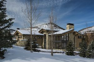 Pictured: 645 Forest Road, Vail. Sold by LIV Sotheby's International Realty for $12.43M.