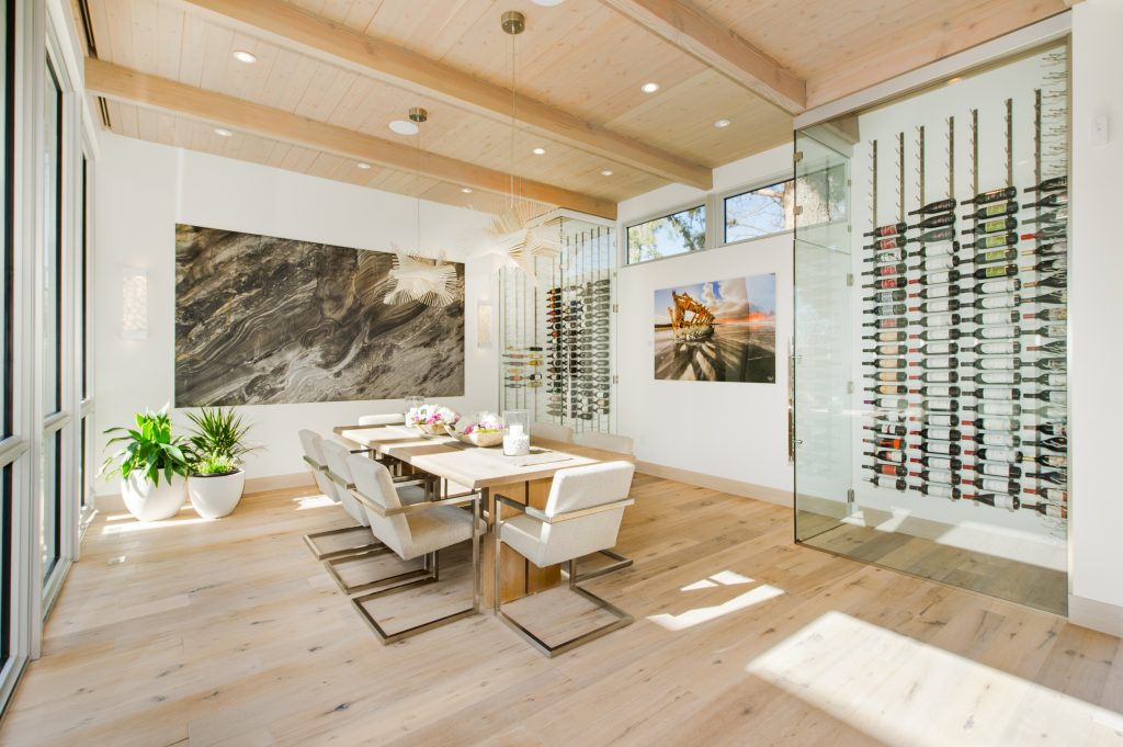 110 S. Cherry Street, Denver. Chic California-contemporary residence designed by homeowner and seller, Karen Hutchinson of Hutchinson Design. Listed for sale by LIV Sotheby's International Realty for $5,300,000.