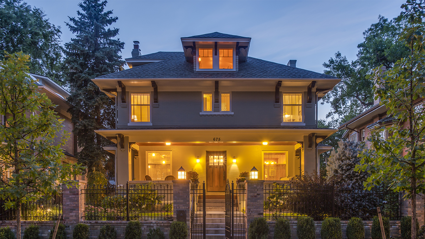 675 North Humboldt Street, Denver, the highest luxury home sold in April 2017. Sold by LIV Sotheby's International Realty brokers, Debra Fagan and Wendy Handler for $3,475,000.