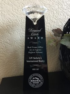 LIV Sotheby's International Realty's Castle Pines office earns top honors at the South Metro Denver REALTOR® 'Diamond Circle' Awards